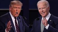 Former President Donald Trump and President Joe Biden