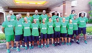 Team Nigeria in Japan