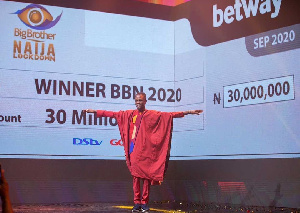 Laycon, 26, beat 19 other housemates to win the coverted N85million