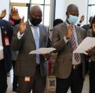 EFCC Chairman and others take oath of secrecy